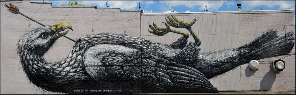 Artist: ROA  |  Location: 1501 W. Main St., Richmond, VA
