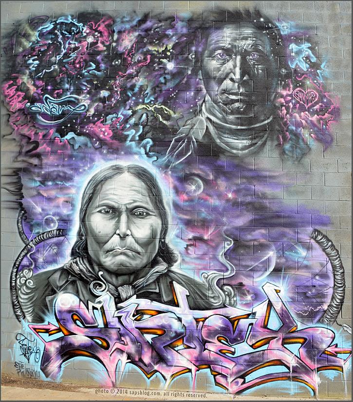Artists: Sintex and Gamma Acosta  |  Location: Denver, Colorado  | Project: Colorado Crush 2013